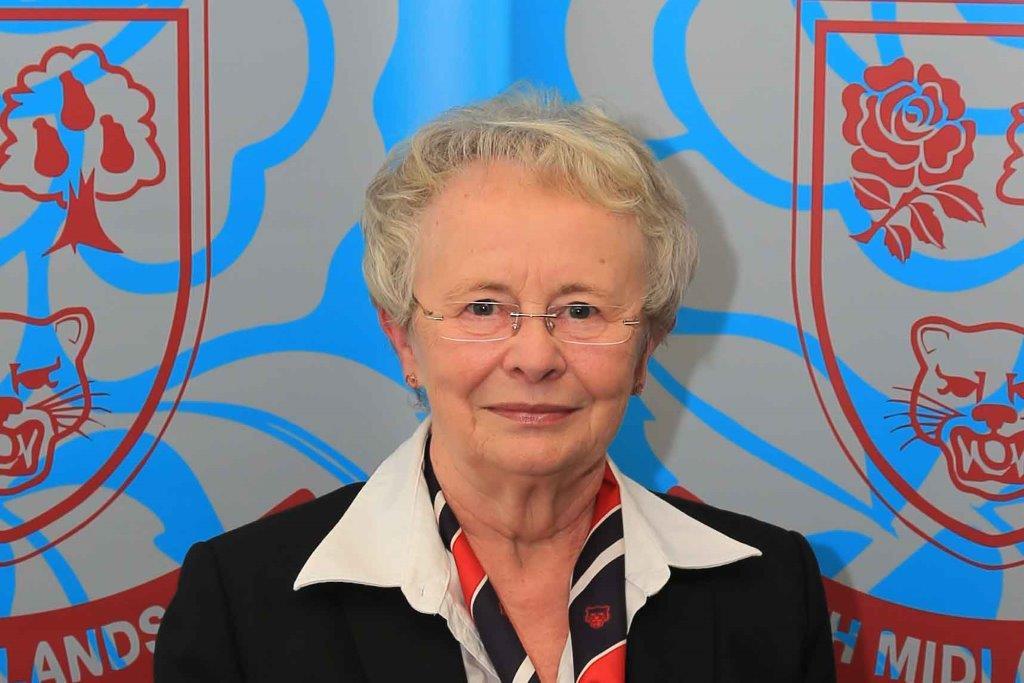 Judith Phelps, President North Midlands RFU