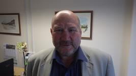 David Thomas (aka Tomo), Chairman of Senior Playing & Junior Vice President