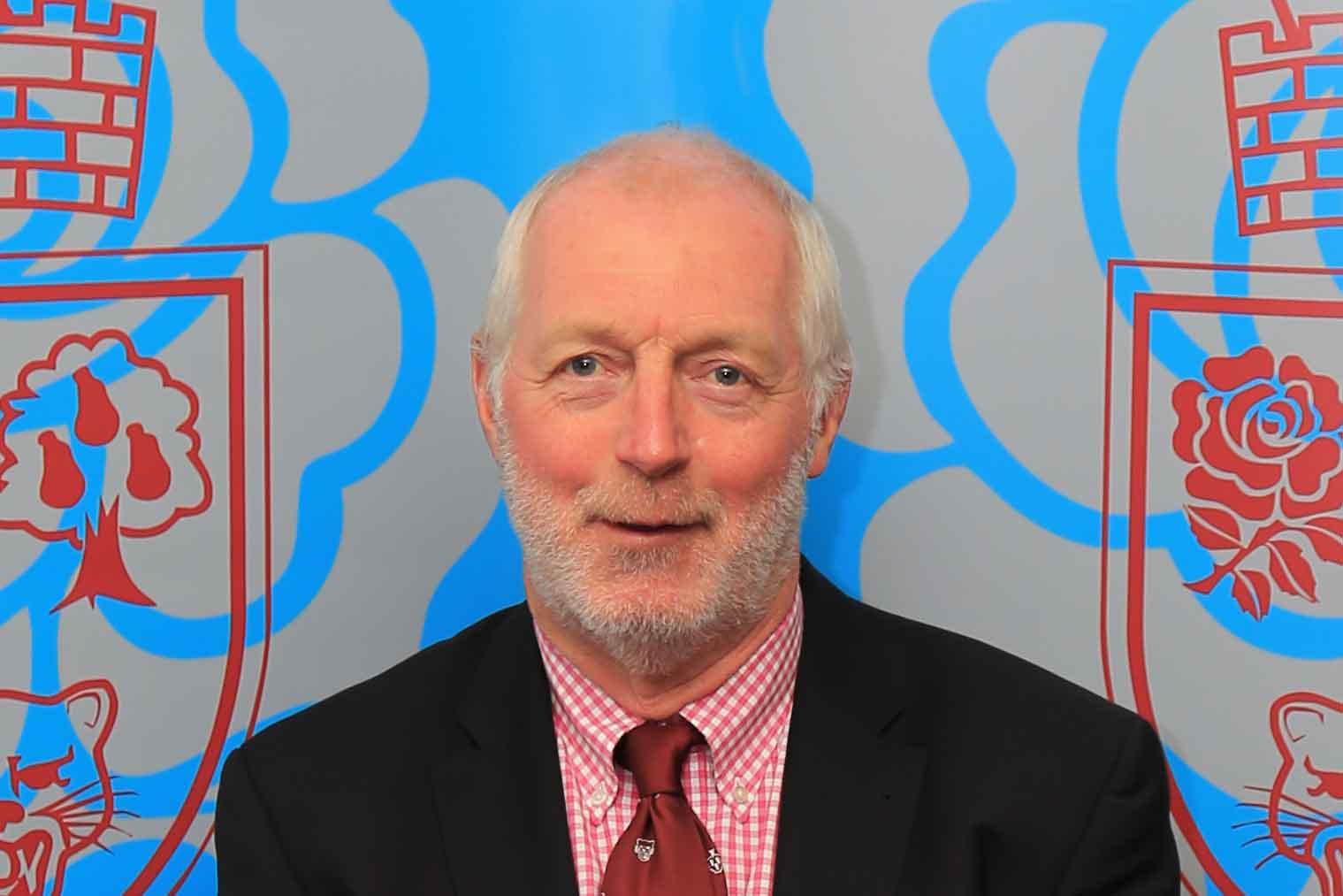 Roger Parsons, Treasurer North Midlands RFU