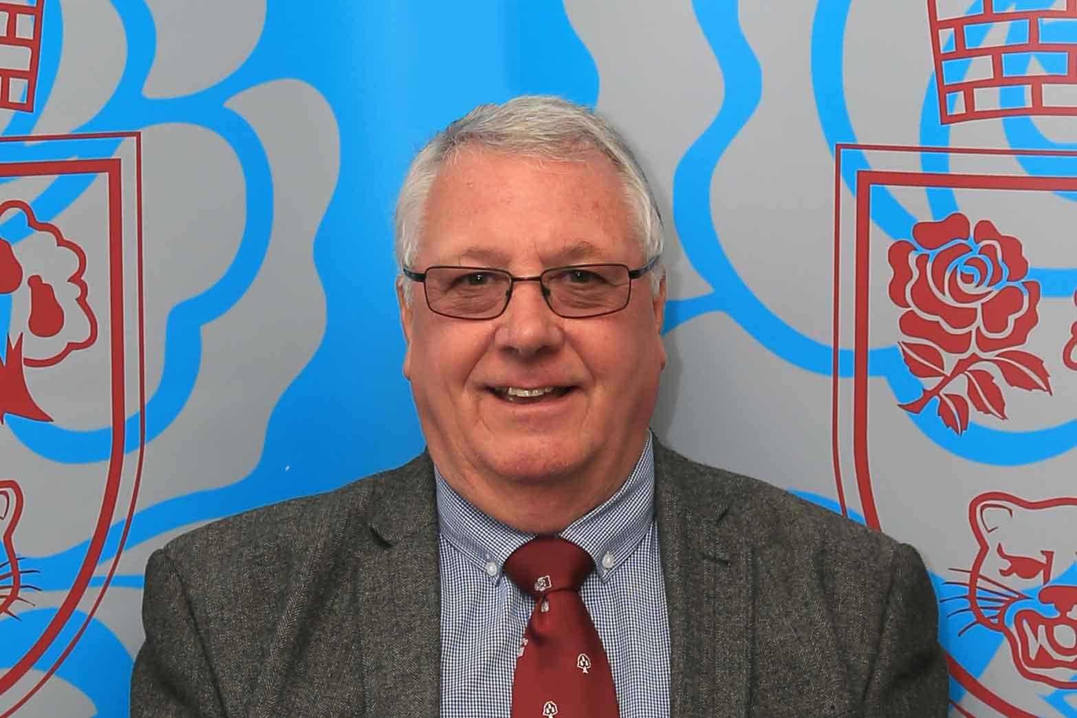 Stuart Potts, Chair of Governance