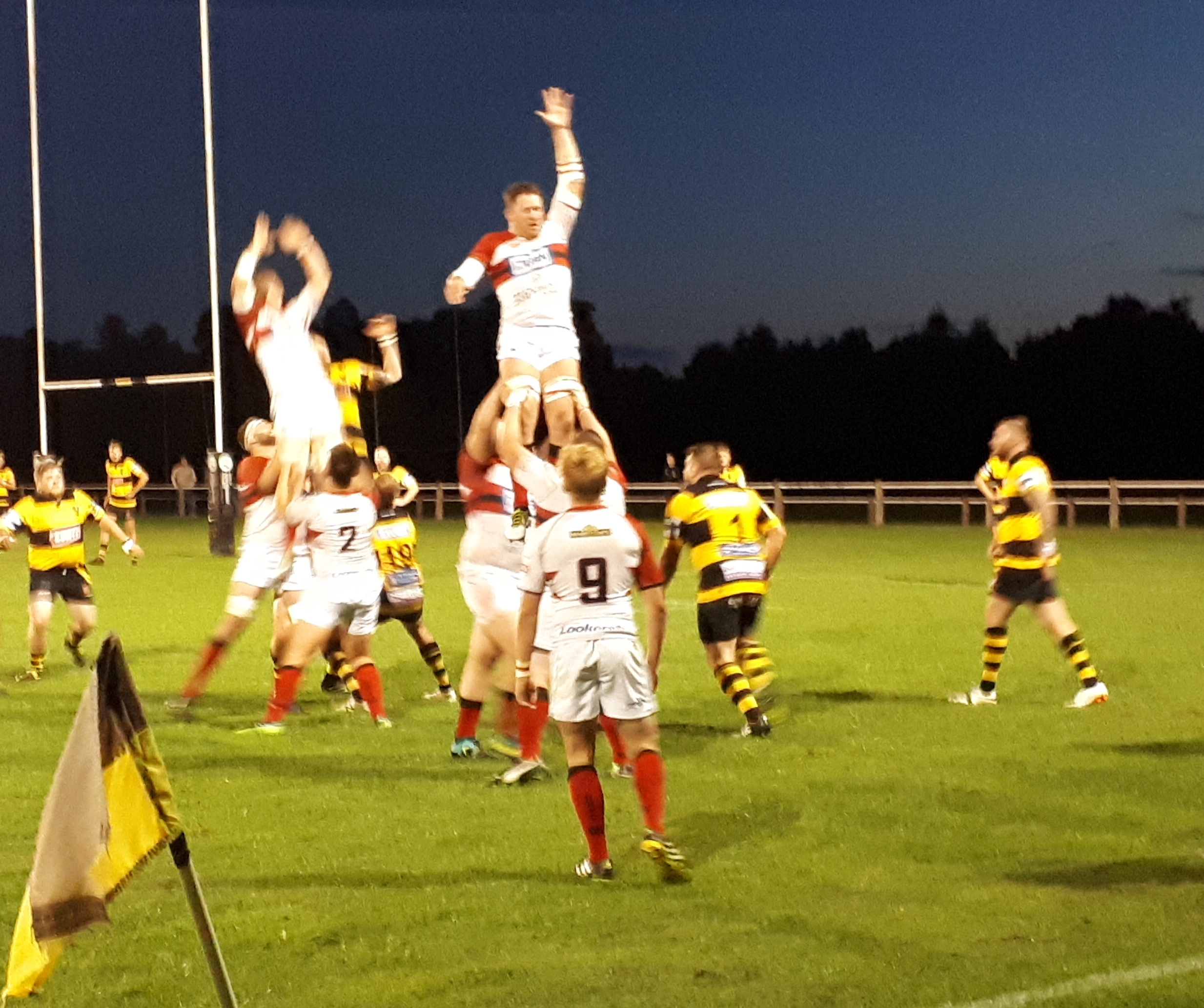 Friday night lights: Droitwich v Bromsgrove