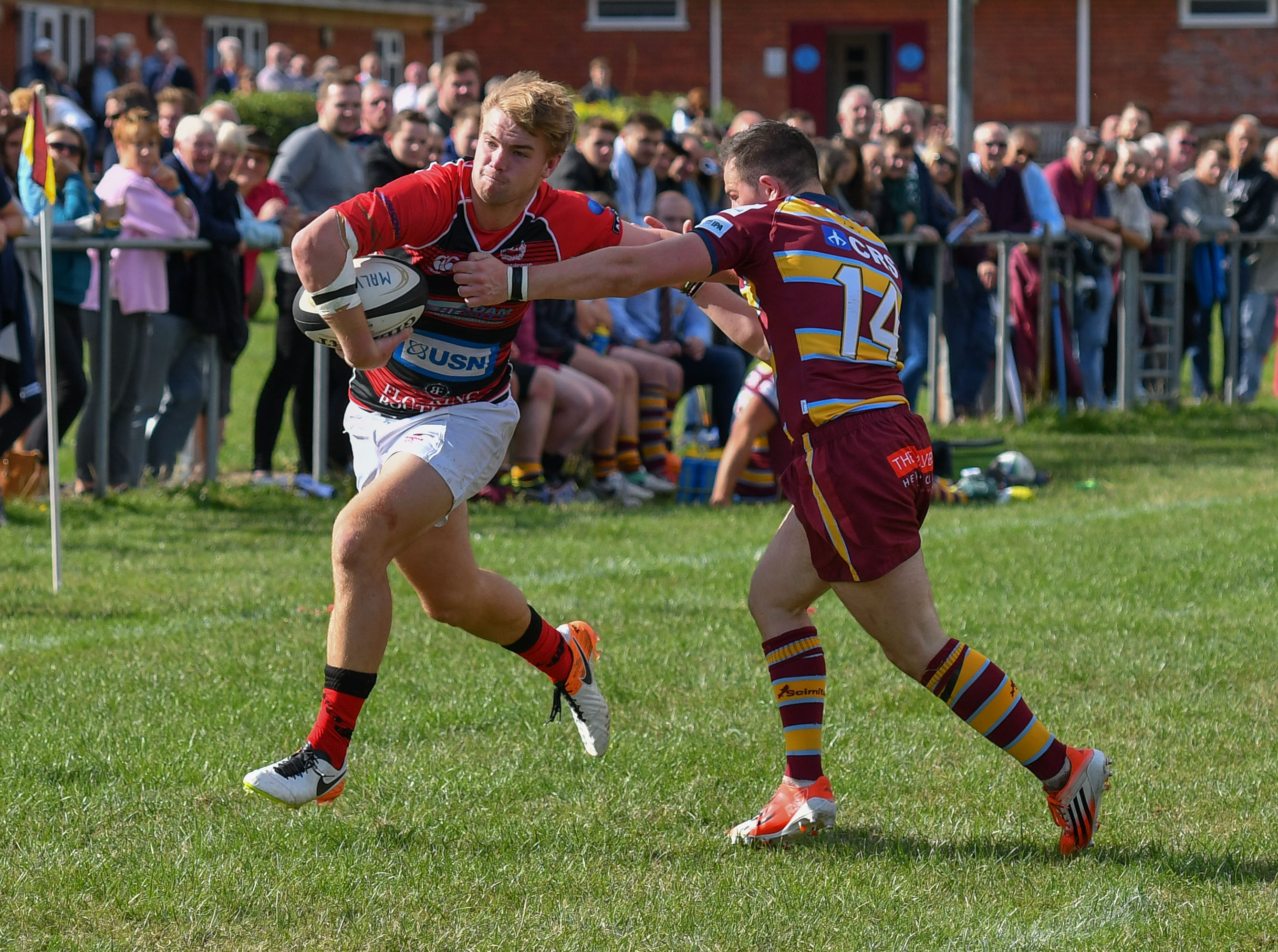 Action from Malvern v Bromsgrove
