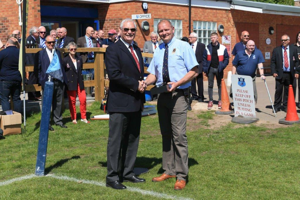 NMRFU Senior Club Volunteer of the Year Giles Alton (Shrewsbury)