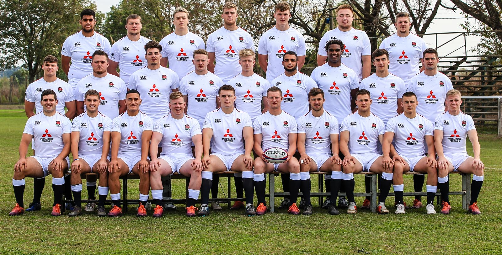 Kai Owen and Ted Hill on England U20s duty in Argentina