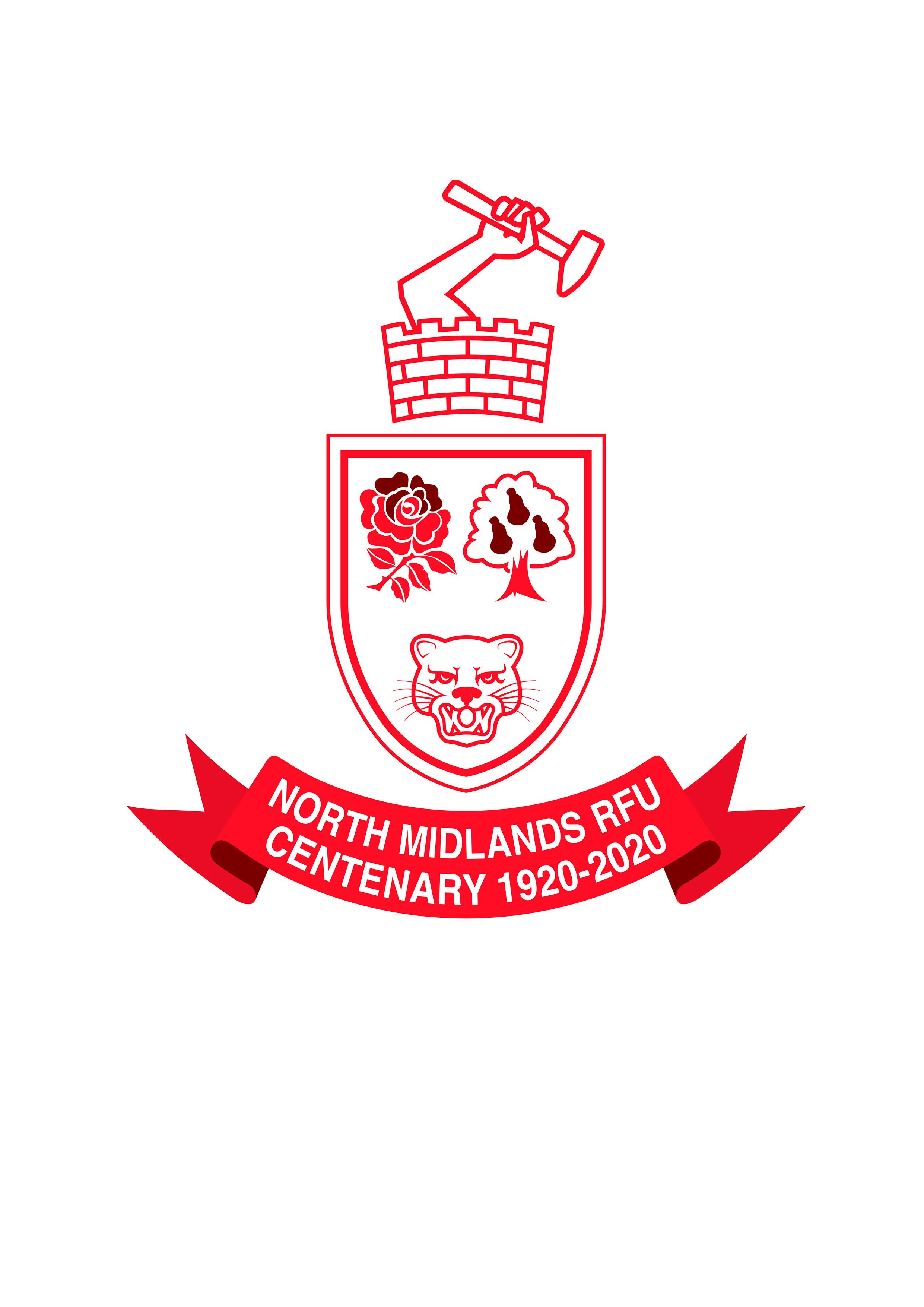 98542_North Midlands Rugby Football Union_Centenary Logo_CH v3