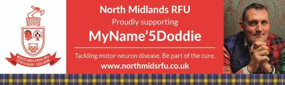 North Midlands Centenary supports Doddie Weir Foundation