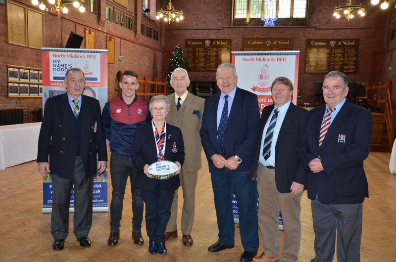 North Midlands Centenary Event Schools 'Challenge Cup' with Sir Bill Beaumont