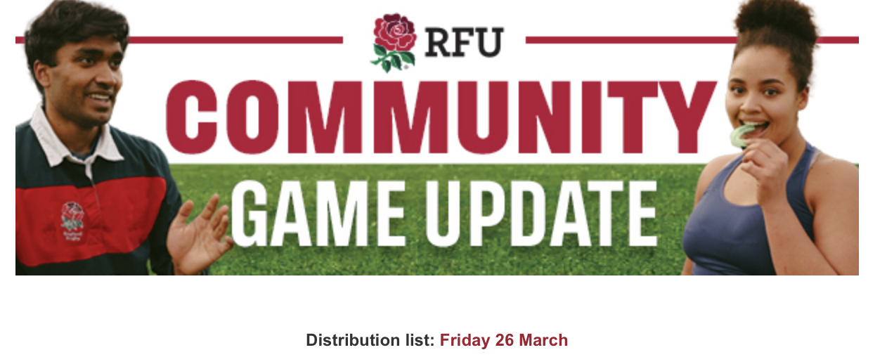 Community Game Update – 26th March 2021