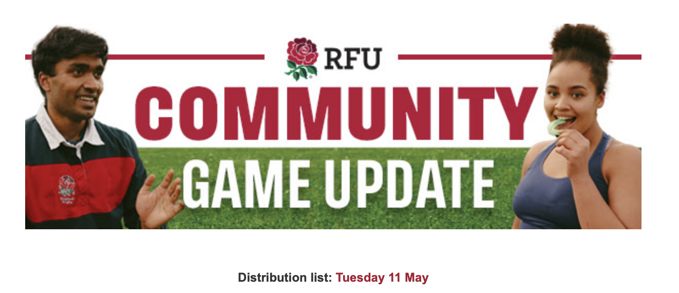 Community Game Update – 11th May 2021