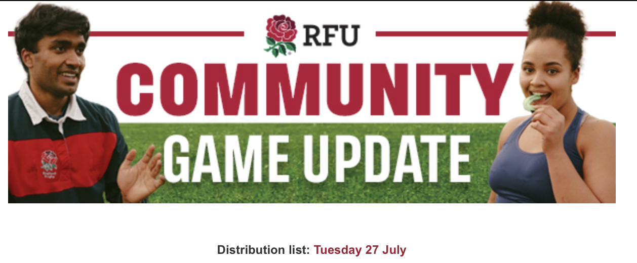 Latest Community Game Update – 27th July 2021