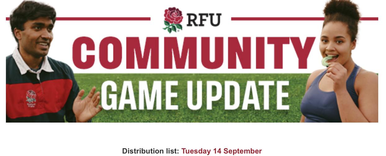 Community Game Update – 14th September 2021